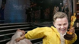 видео Почему Ди Каприо не давали Оскар?