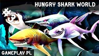 HUNGRY SHARK WORLD PO POLSKU #3 | NOWY NIEBIESKI REKIN KLASY S