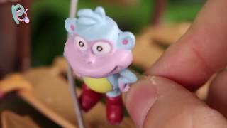 Dora la Exploradora Juguetes en Español 🎒 Botas salva a Dora