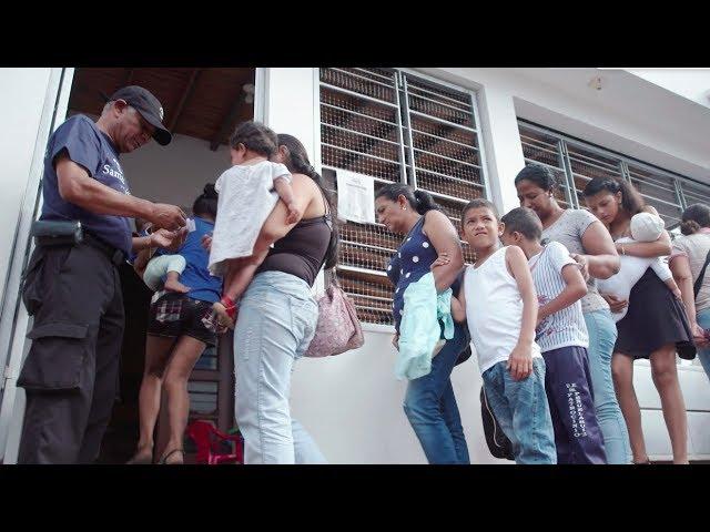 Center Gives Hope to Desperate Venezuelans