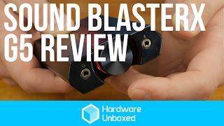 creative Sound BlasterX G5: Review - The best portable audiophile sound?
