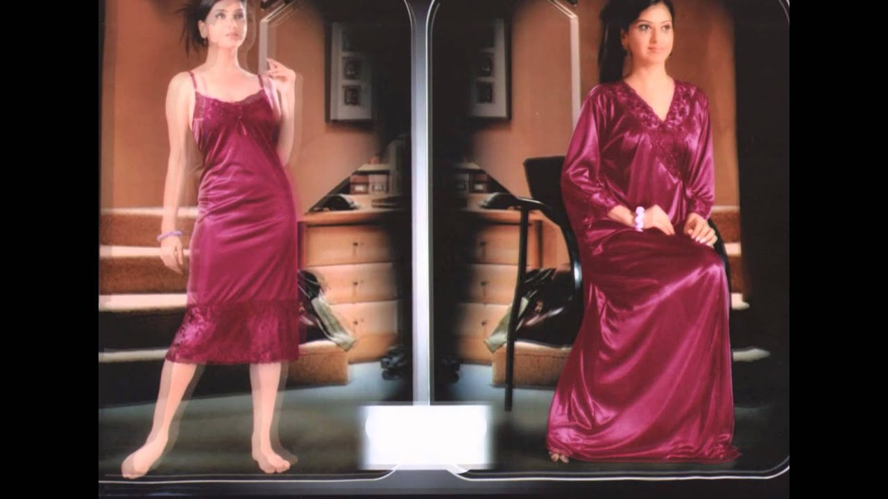 Women s Honey Moon nighty (By Indiatrendzs) - YouTube 59ea256de