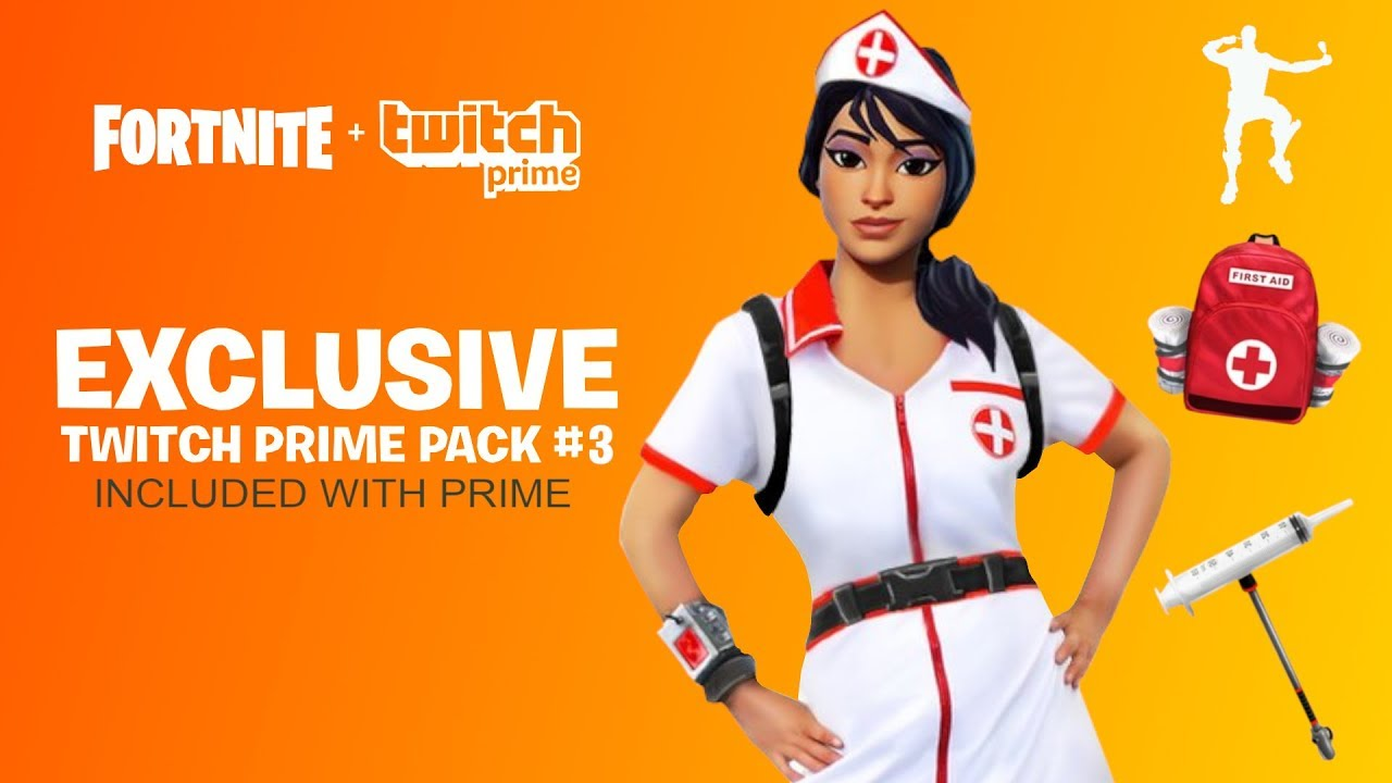 NEW TWITCH PRIME PACK 3 RELEASE DATE FORTNITE TWITCH