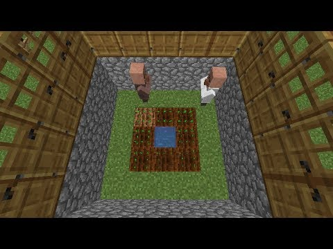 Minecraft 1 13:How to breed villagers