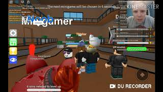 Roblox Epic minigames W Adam/I was almost at the end