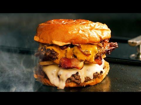 How To Make The Perfect Bacon Cheeseburger   Fresh Ground Beef Brisket, Short Rib & Chuck   BBQGuys