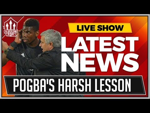 POGBA Not MOURINHO's Main Man Anymore   MAN UTD News