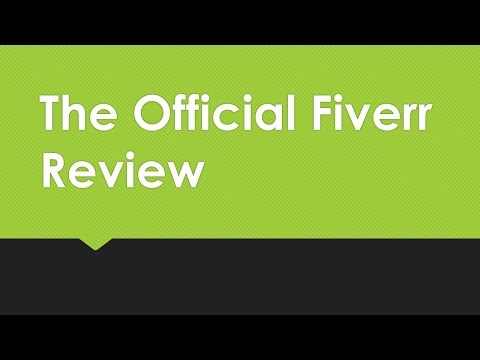 Fiverr- Why Should You Sign Up? Check Out My Review and Gig Recommendations