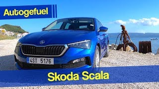"Driving the new ""Skoda Golf"" - Skoda Scala REVIEW - Autogefuel"