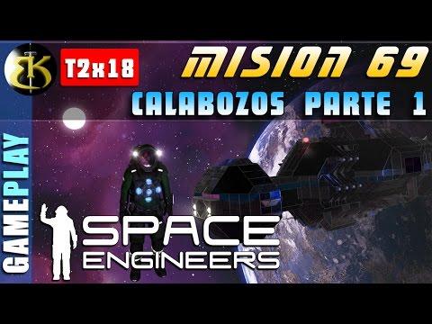 M69 2x18 Calabozos P1 ► SPACE ENGINEERS ► Gameplay Español veg