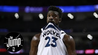 Paul Pierce calls Jimmy Butler the 3rd option on the Timberwolves | The Jump | ESPN