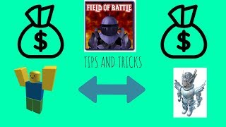 Tips And Tricks For Field Of Battle -Field Of Battle Roblox- AnonymousGamers106