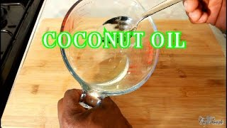 Coconut Oil How To Make Jamaica Coconut Oil At Home Jamaican Recipe | Recipes By Chef Ricardo
