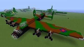 Minecraft - 7 big airplanes + SAVE ...