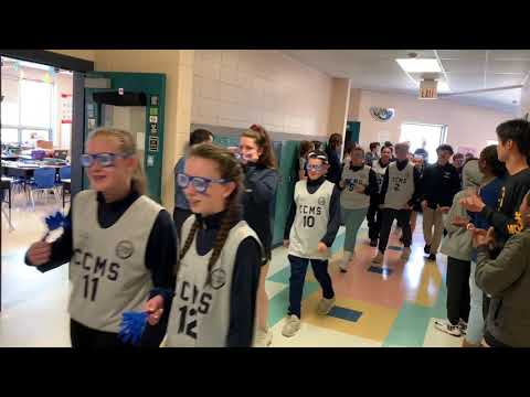 Curtis Corner Middle School Unified Basketball Pep Rally 2019
