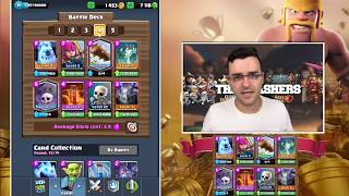 Clash Royale - Draft Chest Opening & NEW Graveyard Deck