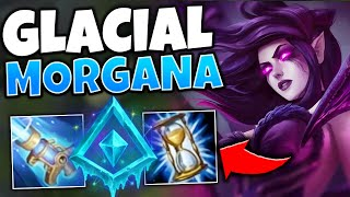 *UNLIMITED CC* THIS GLACIAL MORGANA MID STRATEGY IS FREELO - League of Legends
