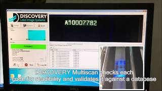 Verification of UV Ink printed text and barcodes during security label production