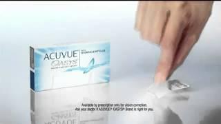 видео acuvue oasys