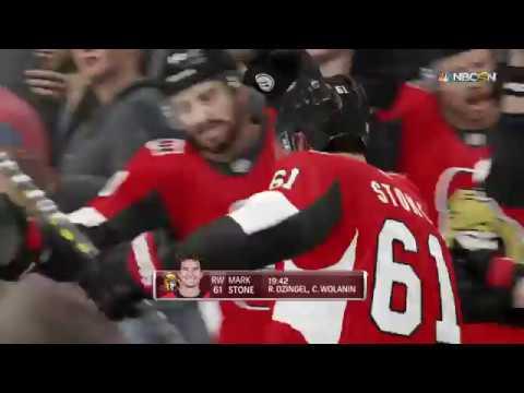 NHL 19 - Washington Capitals Vs Ottawa Senators Gameplay - NHL Season Match Dec 29, 2018