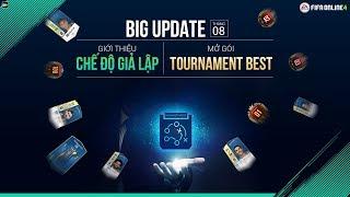 Livestream Mở gói Tournament Best & Hướng dẫn Chế Độ Giả Lập Xếp Hạng