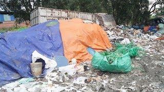 Thu gom rác thải công nghiệp gây ô nhiễm môi trường