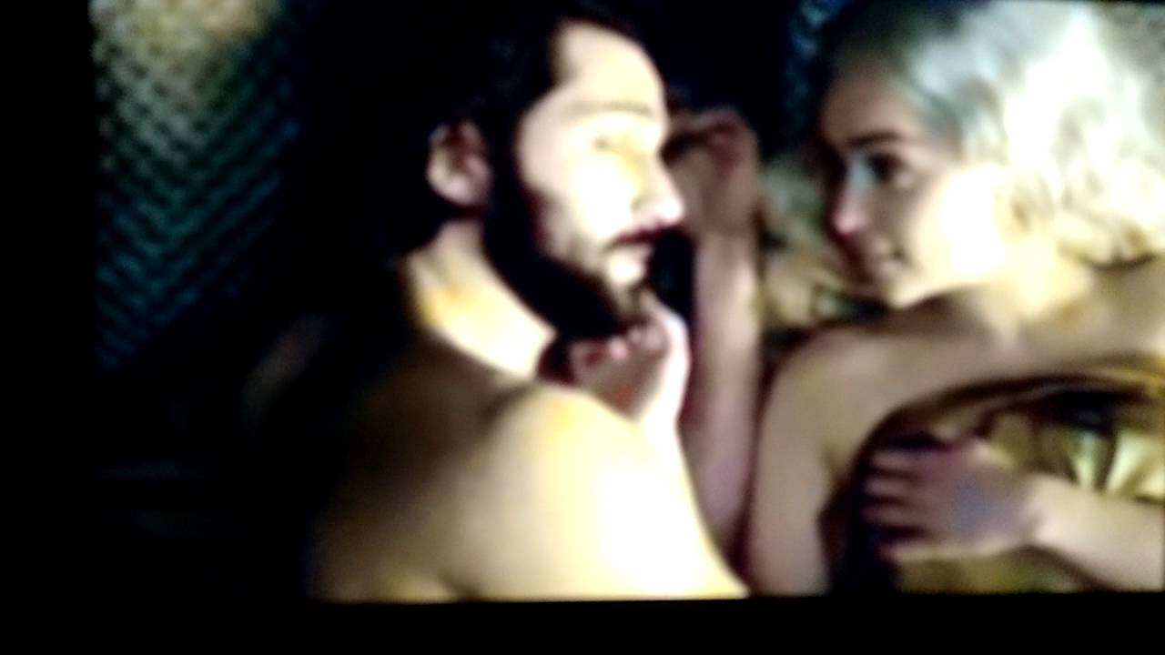 Hot game of thrones scene