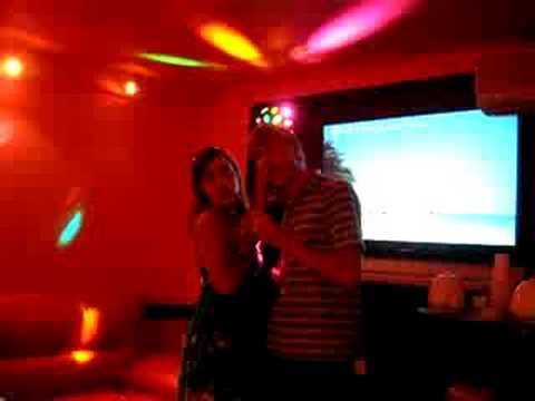 Dan and Colleen Karaoke part 1