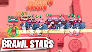 RICO VS 9 FRANKS! BRAWL STARS