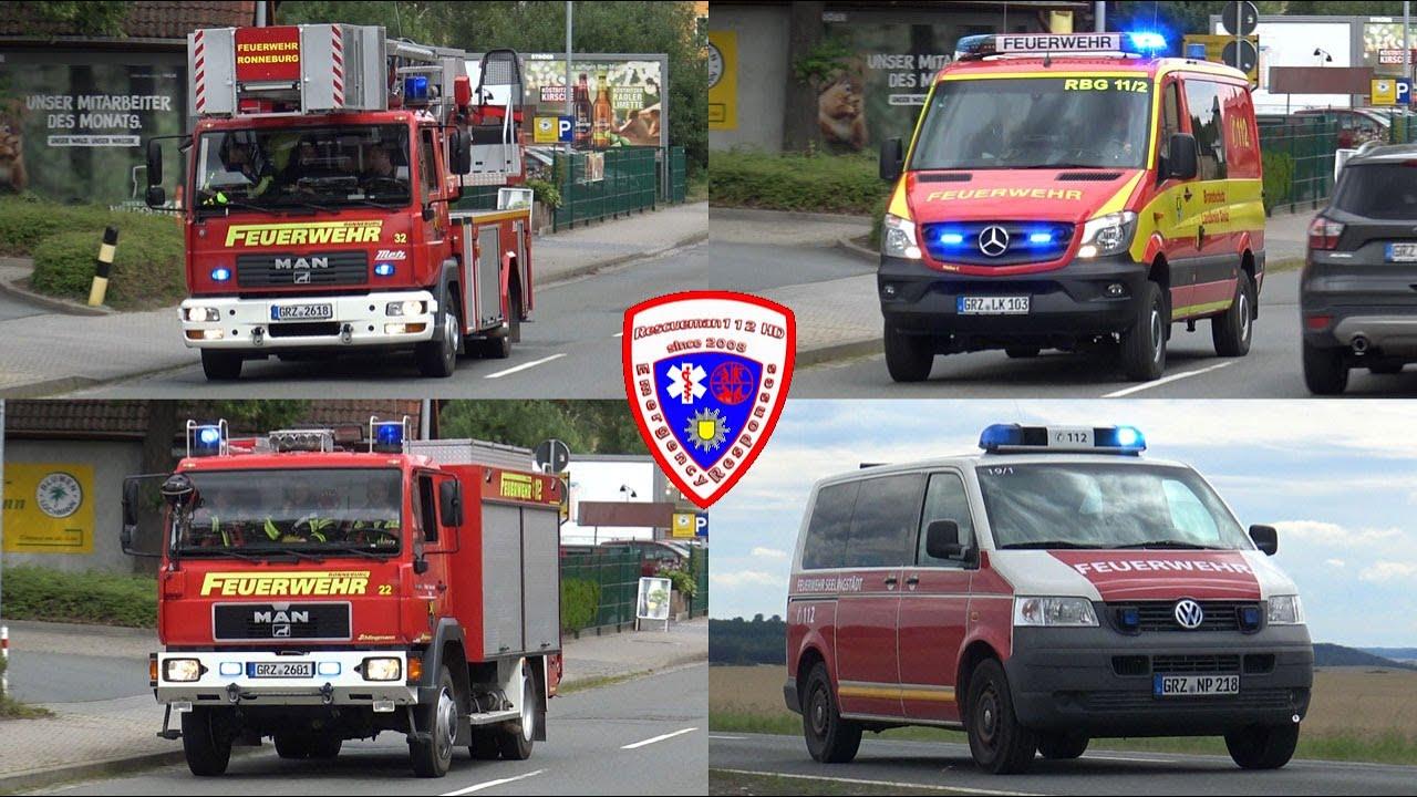 🚨 [Brand Lagerhalle Seelingstädt] Einsatz für die Feuerwehr Ronneburg + Polizei