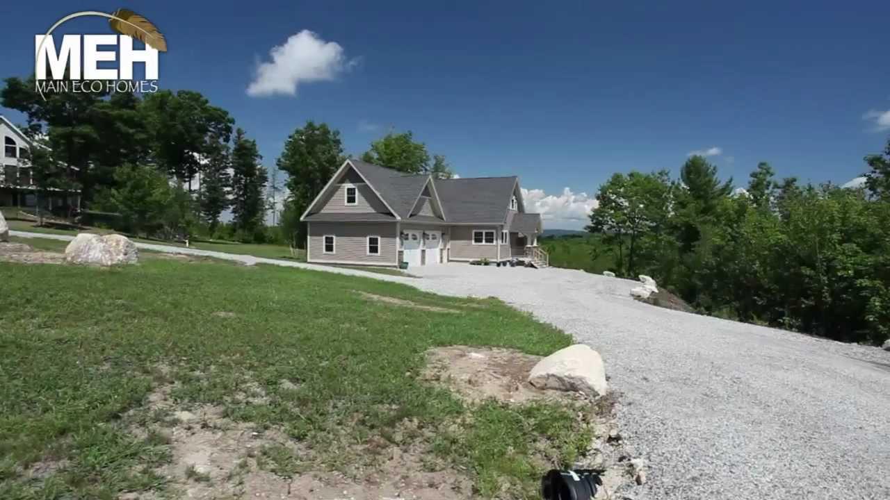 Main Eco Homes 150 Kezar Heights Road Youtube