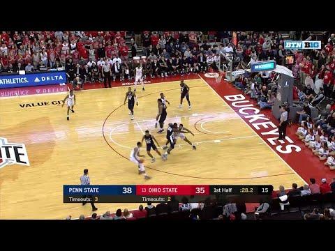 Big Ten Basketball Highlights: Penn State at Ohio State