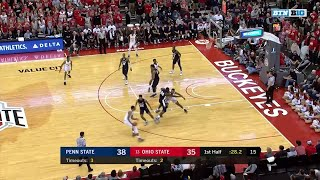 Big Ten Basketball Highlights: Penn State at Ohio State