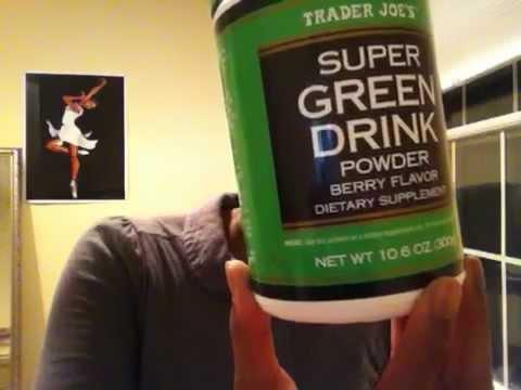 Trader Joe S Green Drink Powder