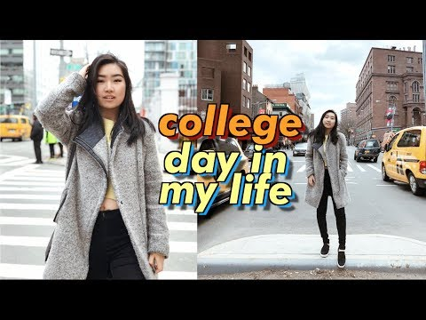 College Day In My Life at NYU in New York City Very Busy!  JENerationDIY