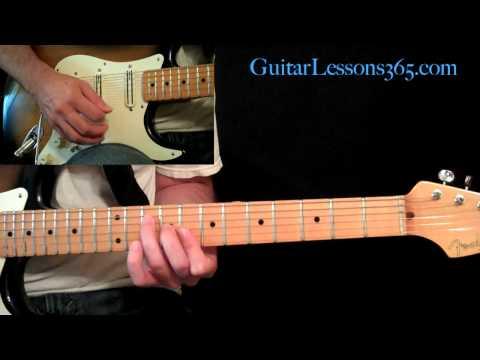 Sweet Child O' Mine Guitar Lesson Pt.2 - Guns N' Roses - Verse - Slash