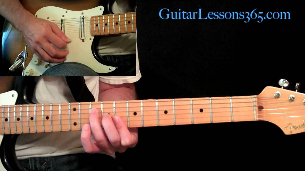 Sweet Child O Mine Guitar Lesson Pt2 Guns N Roses Verse