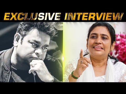 Impact of Ella Pugazhum Iraivanukke - AR Reihana explains | AR Rahman's sister