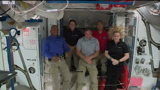 Expedition 64 ISS Crew News Conference - November 19, 2020