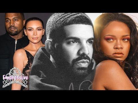 Drake's Scorpion Album: Confirms son | Talks Rihanna, Kanye West, and Kim Kardashian?