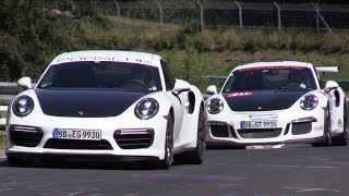Porsche 991 GT3 RS & Cayman GT4 - Together on the Nurburgring! thumbnail