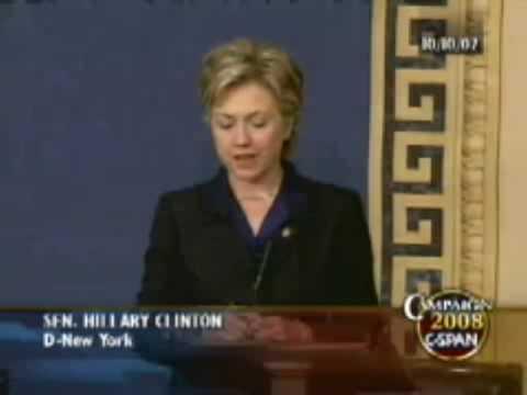 Hillary Clinton's 2002 Vote for the Iraq War