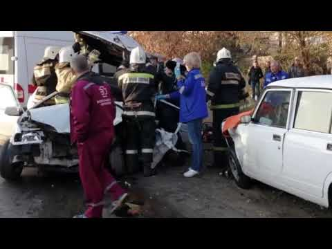 Авария в Красноармейском районе Волгограда 6 ноября 2019 года