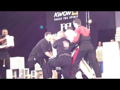 US Open ISKA Breaking montage 2014