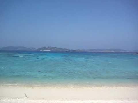 トカシクビーチの穏やかな風景