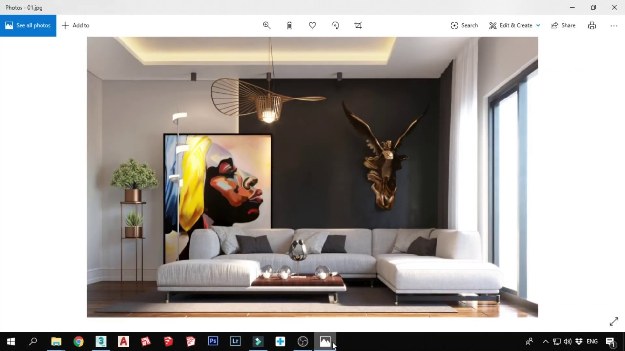 Corona Render Workshop-Lesson 3 +Render settings+ Light Mix الورشة المجانية لرندر الكورونا - YouTube