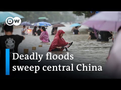 Download China: Heavy rains cause deadly floods in Henan province   DW News