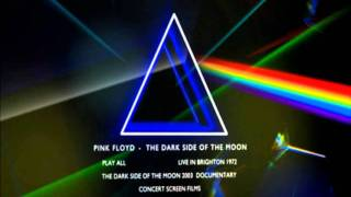 Pink Floyd - The Dark Side of the Moon (DVD/BLURAY) - The Pavement