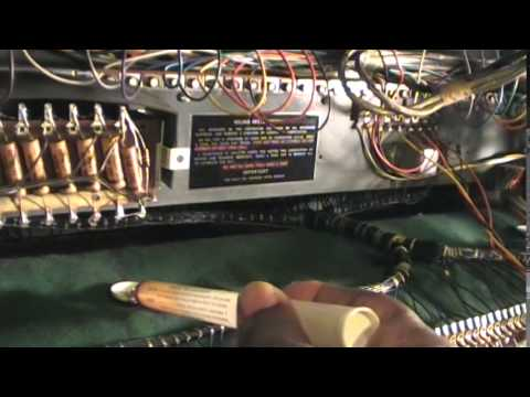 Woodstock Recording Studio - Hammond Model H111 H100 with a 122 Leslie . Test run by Lennart ☀️ from YouTube · Duration:  3 minutes 10 seconds