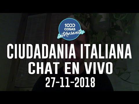 27-11-18 - Chat en vivo con Seba Polliotto - Ciudadania Italiana